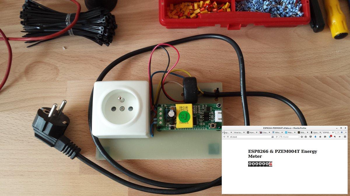Ullis Roboter Seite/ESP8266 Energy Meter
