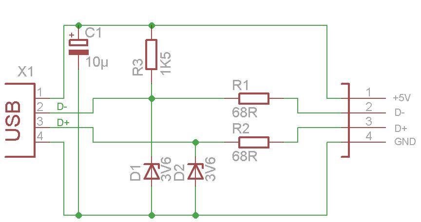Ullis Roboter Seite/USB Adapter